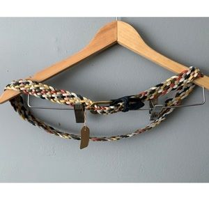 Capezio Multi-Color Braided Belt